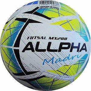 Bola Futsal Oficial Madri Termoselada - ALLPHA BOLAS