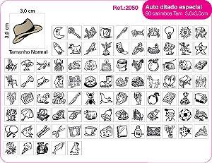 Carimbos Pedagógicos Auto Ditado Especial - 90 un. - FUNDAMENTAL