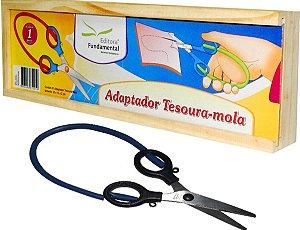 Brinquedo Educativo Adaptador Tesoura-mola - FUNDAMENTAL