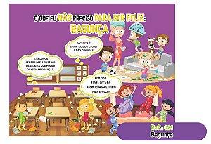 Jogo Educativo Quebra Cabeça Gigante Bagunça 12 Peças- Way