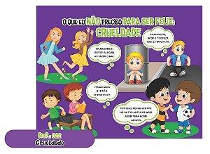Jogo Educativo Quebra Cabeça Gigante Crueldade 12 Peças- Wa