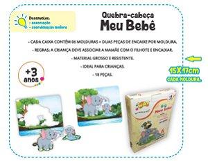 Jogo Educativo Quebra Cabeça Meu Bebê 2 com 6 Joguinhos - Way