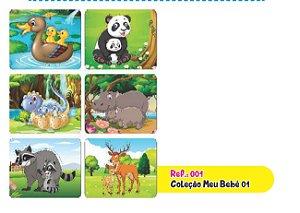 Jogo Educativo Quebra Cabeça Meu Bebê 1 com 6 Joguinhos - Way