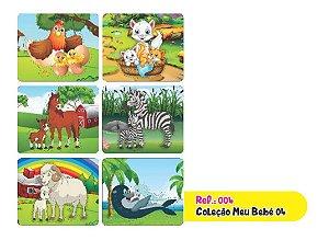 Jogo Educativo Quebra Cabeça Meu Bebê 4 com 6 Joguinhos - Way
