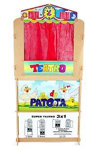 Teatro da Patota 3 Em 1- Carlu
