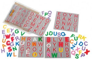 Bingo De Letras Em E.V.A - 98 Peças - Jottplay