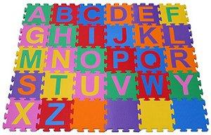Tapete Alfabetário 30 Quadros - 25x25cm - JOTTPLAY