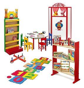 Brinquedoteca composta por 22 itens - JOTTPLAY
