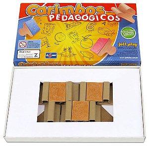 Carimbos Pedagógicos Psico-Avaliação Tutti-Frutti 10 peças