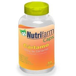 Óleo de Cártamo  - 60 cápsulas – 1000mg – Nutrifarm