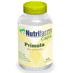 Óleo de Prímula - 60 cápsulas – 500mg – Nutrifarm