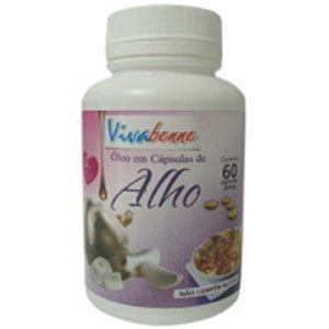 Óleo de Alho - 60 cápsulas - 250mg - Ativiva
