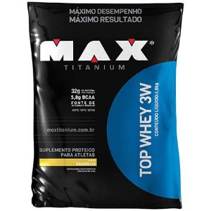 Top Whey 3W - Saco 1,8kg Refil - MAX Titanium