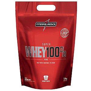 Super Whey 100% - Sacola 907g - IntegralMédica