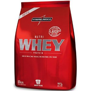 Nutri Whey Protein - Saco 907g - IntegralMédica