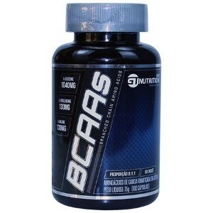 BCAAs 8:1:1 - 100 cápsulas - GT Nutrition USA