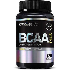 BCAA Plus - 120 Tabletes - Probiótica