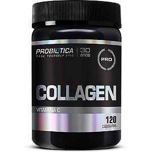 Collagen - 120 Cápsulas - Probiótica