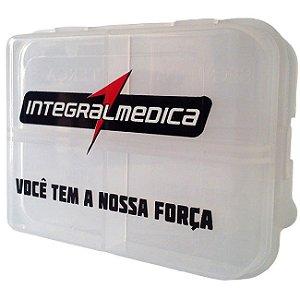 Porta-cápsulas Transparente - Integralmédica
