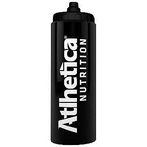 Squeeze Preto com Válvula Automática - 800ml - Atlhetica Nutrition