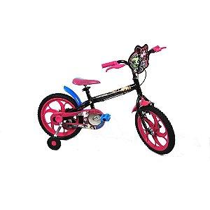 Bike aro 16 Caloi Monster High
