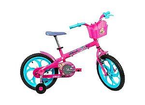 Bike aro 16 Caloi Barbie