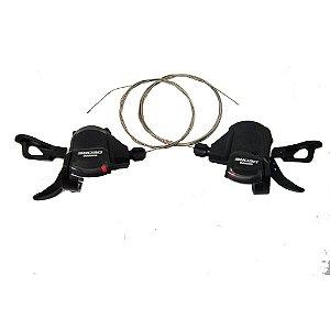Alavanca de câmbio Shimano Deore M610 2X10V ou 3X10