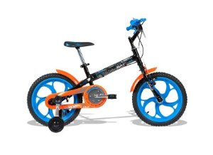 Bike aro 16 Caloi Hot Wheels 2017