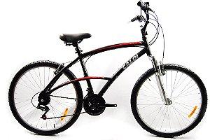 Bike aro 26 Caloi 100 Sport - 21 Velocidades