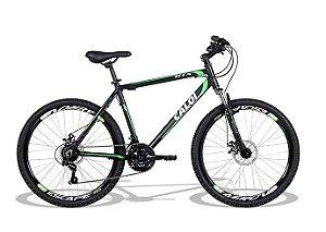 Bike Aro 26 Caloi HTX Disc - 21 velocidades