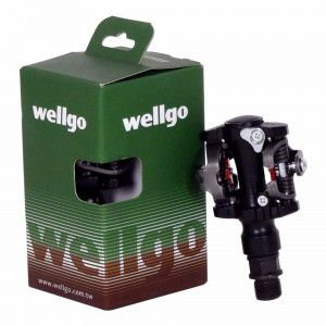 Pedal 9/16 Alumínio Wellgo M919 Clip MTB