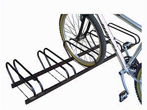 Suporte Para 5 Bicicletas Chão Metal Lini