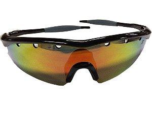 Óculos de Ciclismo High One Fusion c/ 3 Lentes