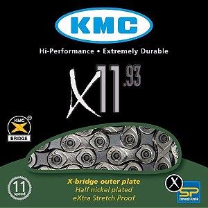 Corrente 11V KMC X-11 Silver