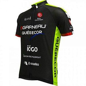 Camisa Louis Garneau Pro Replica Quebecor 2017