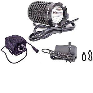 Lanterna Vivatec 1000 L Preto/Vermelho