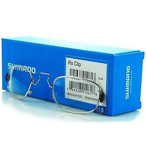 Armação de Lentes de Grau RX Clip II Óculos Shimano
