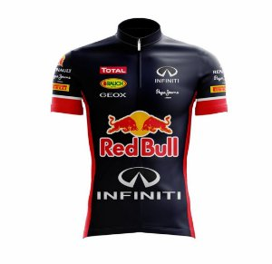 Camisa Scape Team Red Bull Manga Curta