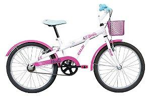 Bike aro 20 Caloi Barbie 2018