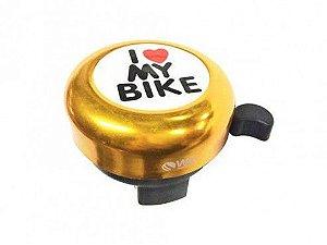 Buzina Campainha WG Sports Trim Trim I Love My Bike