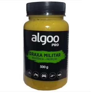 Graxa Militar Algoo Pro Resistencia+Proteção 500g