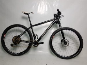 Bike aro 29 Cannondale F29 Carbon 4 Eagle XX1 Tam L Seminovo
