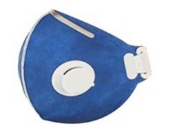 Respirador PFF2 VO com Válvula Azul C.A.25968 - Lubeka