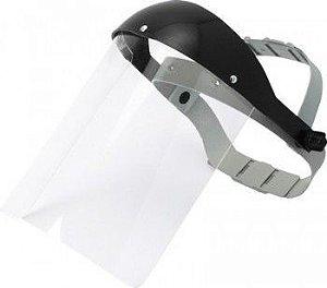 Protetor Viseira Facial Incolor CA 15019 - Plastcor