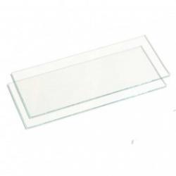 Lente Retangular Incolor 51x108mm para Máscara de Solda - KBS