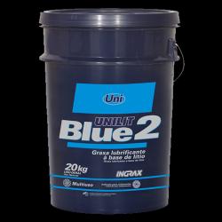 Graxa Para Rolamentos Blue2 Azul 20kg Ingrax Multiusos