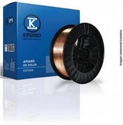 Arame Mig 1,2mm 15Kg Com Carretel Plástico ER70S-6 - Kiferro