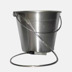 Balde de Alumínio com Aterramento Garra e Cordoalha 15 litros - Plastcor