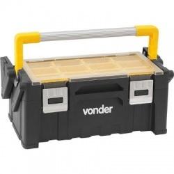 Caixa Plástica Ferramentas Alça em Alumínio 480x240x200mm OPV0800 - Vonder