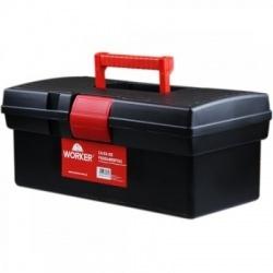 Caixa Plástica para Ferramenta Baú 17x17x32cm - Worker